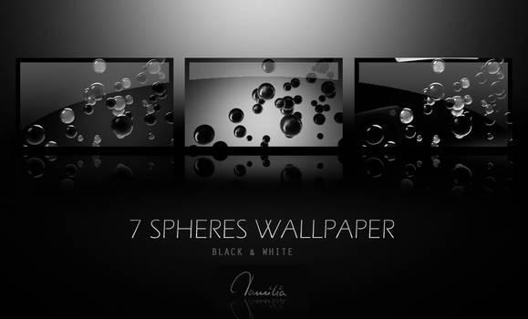 Black Spheres Walls