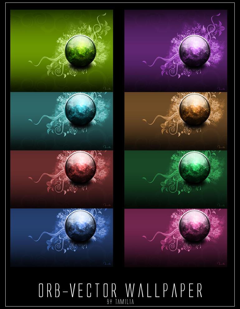 Orb-Vector Wallpaper by Tamilia