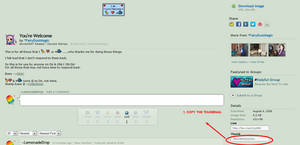 TUTORIAL: How To Put Stamps in Your DeviantID by LemonadeDrop