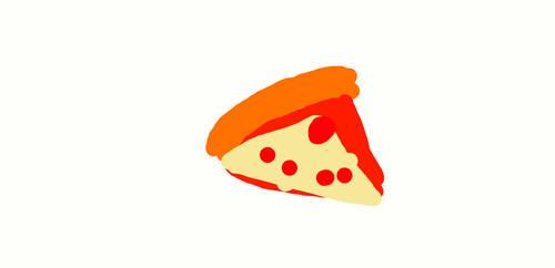 scribbly pizza