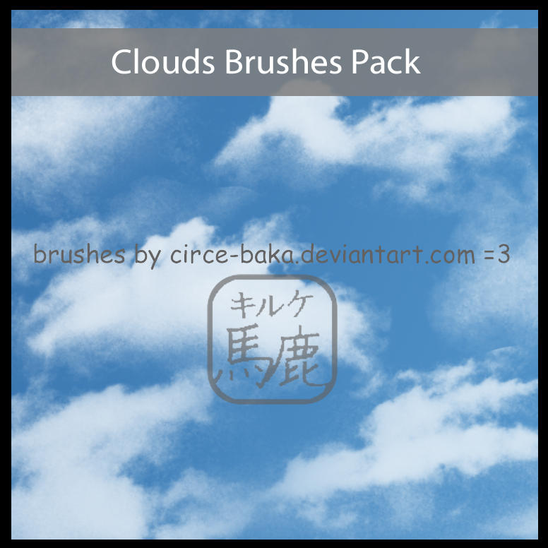 Clouds Brushes Pack by Circe-Baka