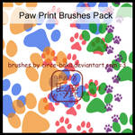 Paw Print Brushes Pack