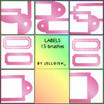 Brushes - Labels
