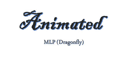Dragonfly (animated) by Redwingsparrow