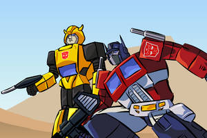 Transformers Flash Short by oucd45
