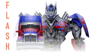 Interactive Optimus Prime : Age of Extinction by oucd45