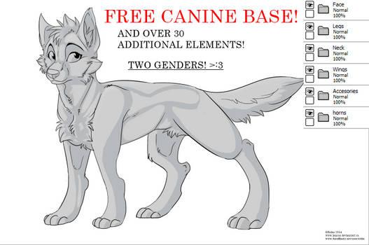FREE Canine Base PSD!