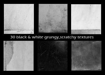 black and white icon textures by diebutterfliege