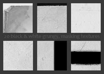 black and white icon textures3 by diebutterfliege