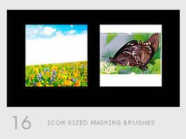 Icon Sized Masking Brushes