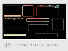 Button Sized Border Brushes