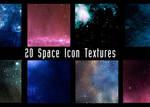 100x100 space textures