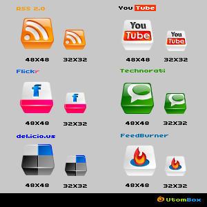 Web icons by freePSD