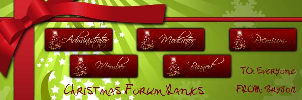 bry5012 1 1 christmas forum ranks by bry5012 - Christmas Forum