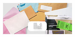 Mail Set with Trasparent BG