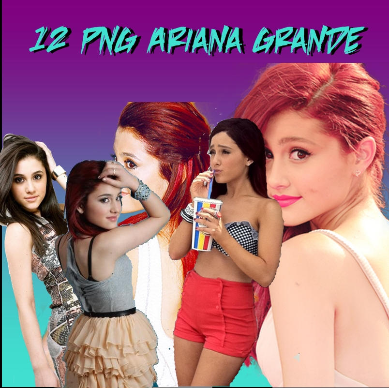 Download Ariana Grande Thank You Next: Pack Png Ariana Grande 1 By SoniaSpain On DeviantArt