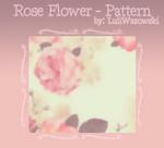 +Rose Flower - Pattern