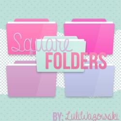 +Square Folders by LuliWazowski