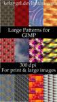 Large Patterns for GIMP
