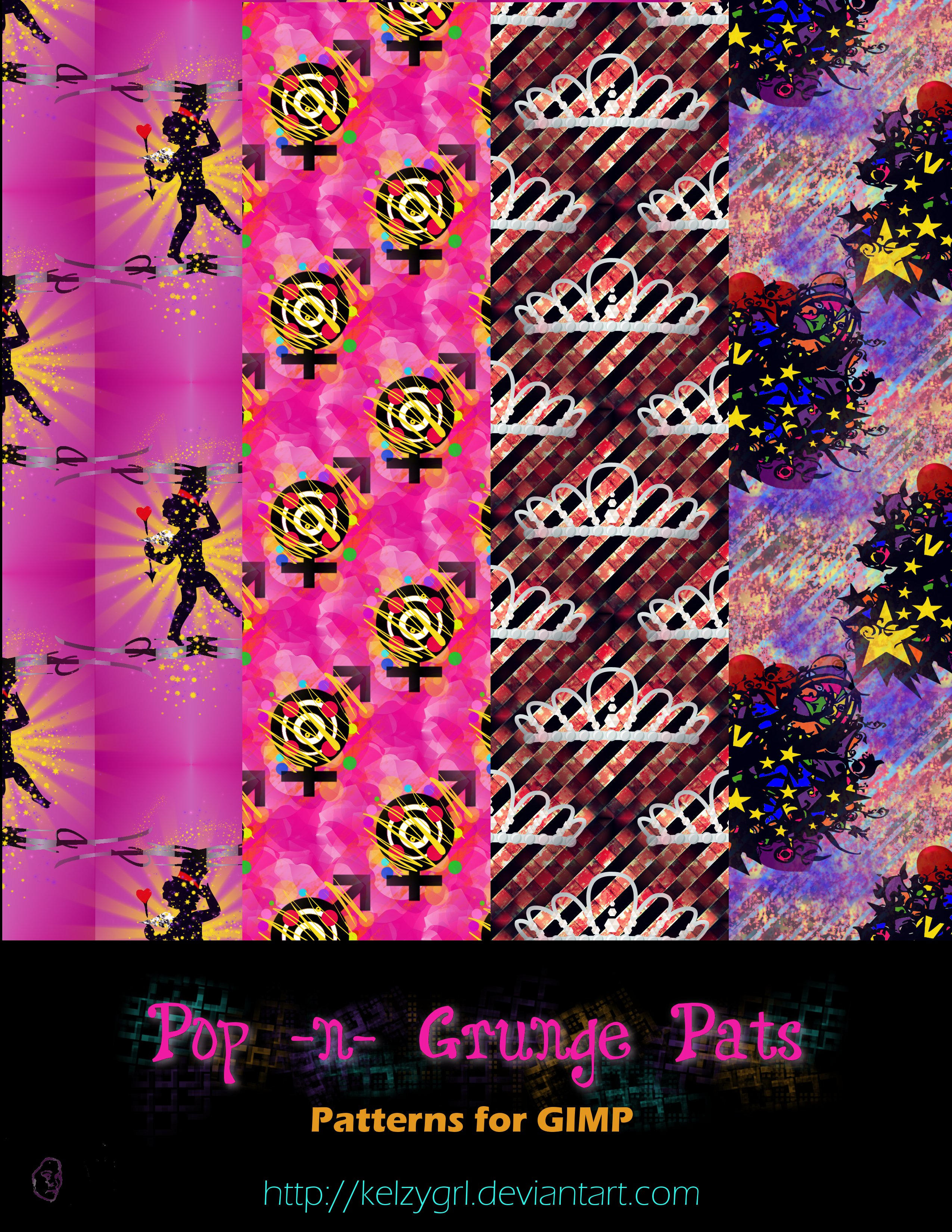 Pop -n-  Grunge Pats by kelzygrl