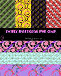 Swirly Patterns for GIMP