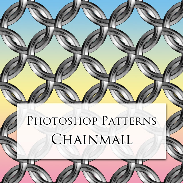 Photoshop Patterns - Chainmail