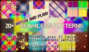 FREE tartan  and plaid seamless patterns