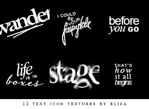 Katie Herzig Icon Textures by elizacunningham