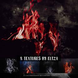 Fire Textures by elizacunningham
