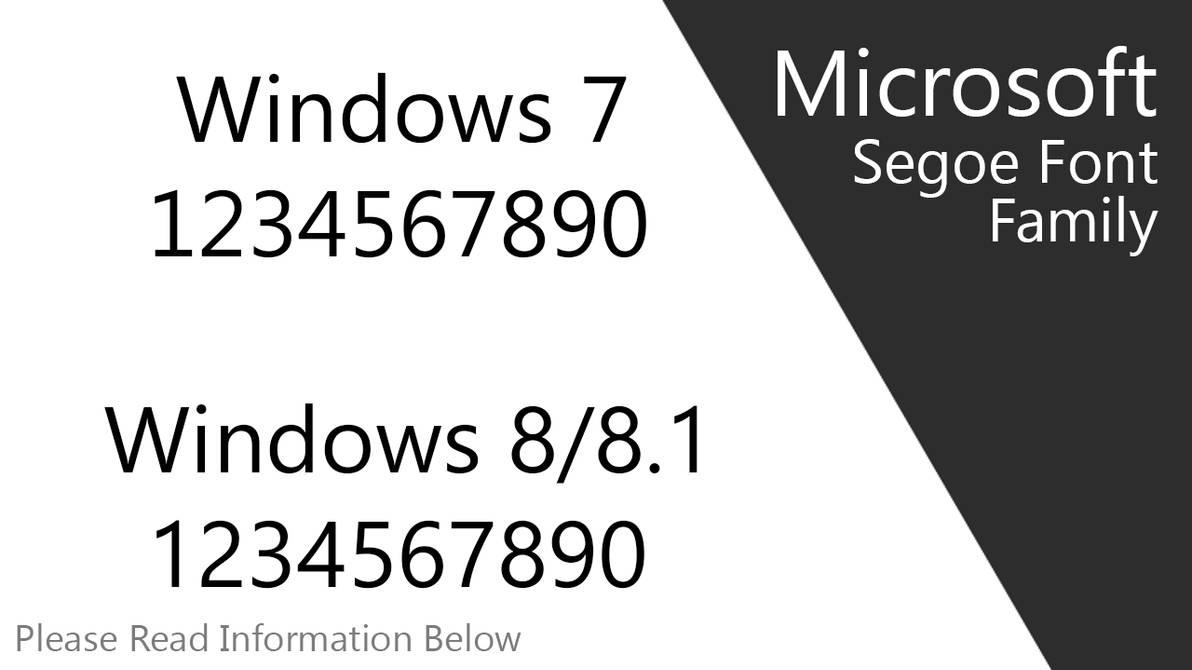 Windows 7 Fonts Download