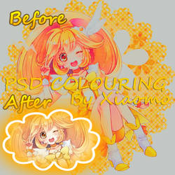 My Second PSD Colouring