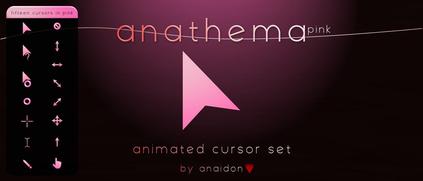 Anathema Pink Cursor by Anaidon-Aserra