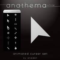 Anathema White Cursor Set by Anaidon-Aserra