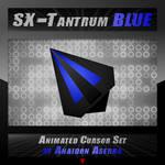 SX-Tantrum Blue Cursor Set