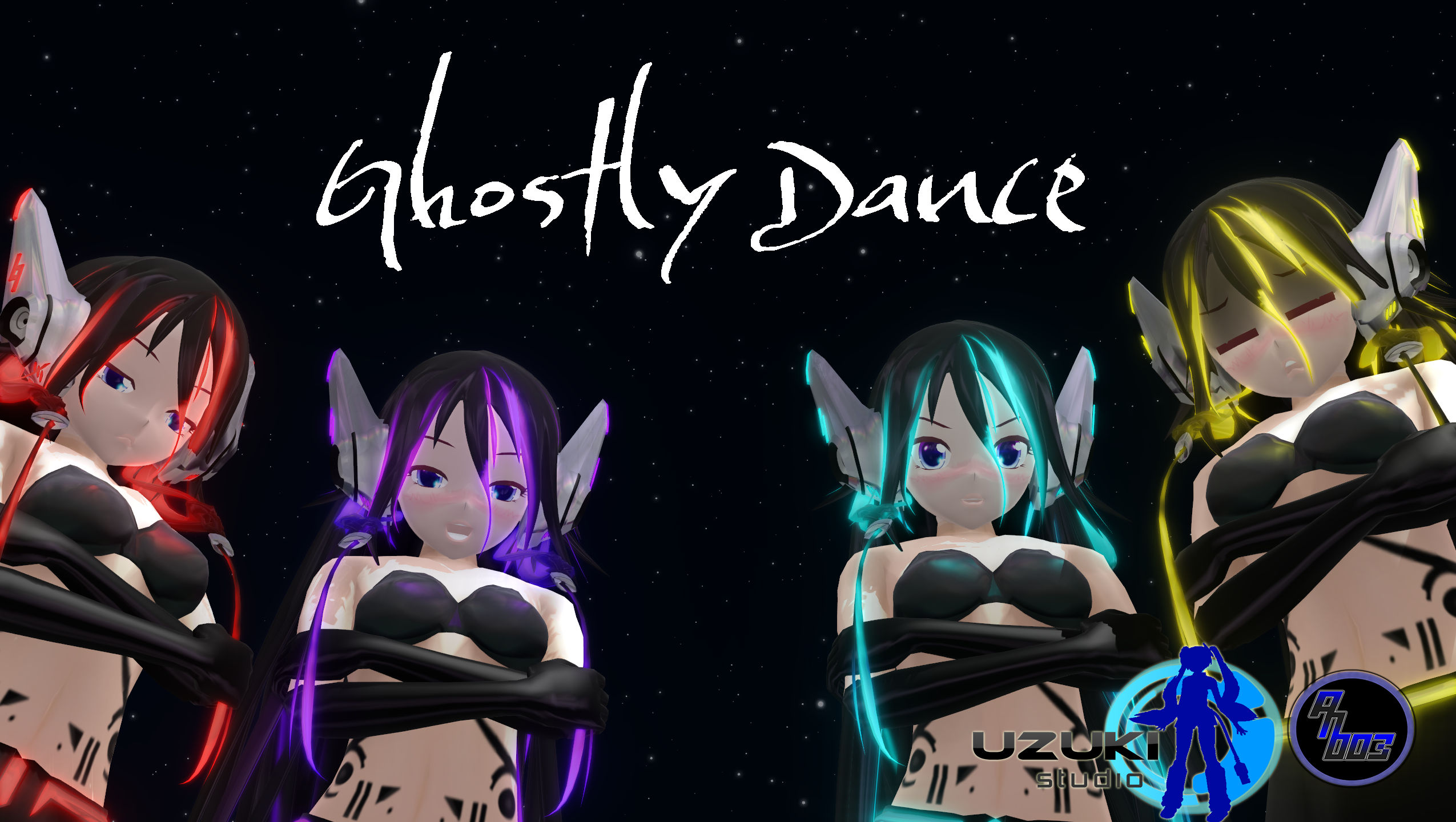 [MMD] Ghostly Dance -motion DL-