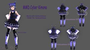 [MMD] Cyber Kimono