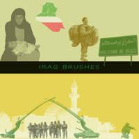 Iraq Photoshop Brushes by Alamuki