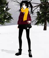 Takane Enomoto Winter - Download by SapphireRose-chan