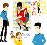 Star Trek useless doodles by Allam
