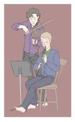 A Little Duet by Allam