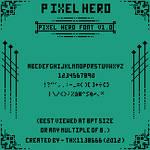 Pixel Hero Font