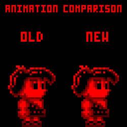 Walk animation comparison by THX1138666