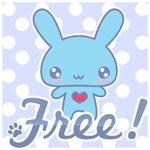 Free: Blue Bunny