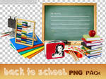 'Back to school' PNG pack - 18 pictures