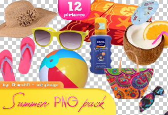 Summer png pack by Sharah11