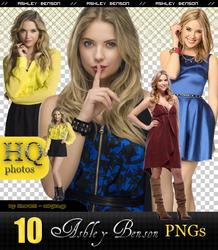 Ashley Benson png pack - HQ by Sharah11