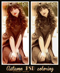 Autumn PSD coloring 06 by Sharah11
