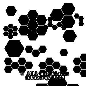hexagon brush set by buki