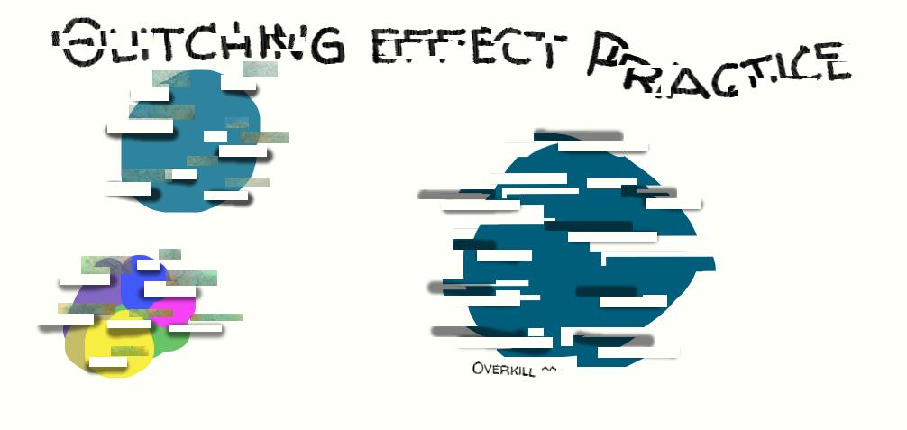 Glitching Effect Practice by SW-NekoNeko