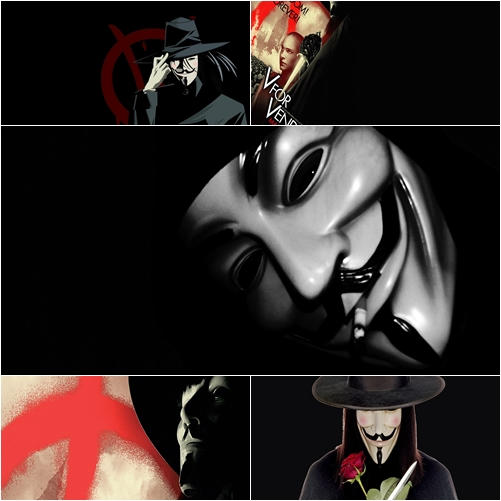 v for vendetta themes Best answer: vengence and corruption, facism, compassion, symbolism, fear etc the symbolism is really interesting actually, if you read the section 'the letter v and the number 5' on the wikipedia page linked below, it details lots of things you maybe have overlooked.